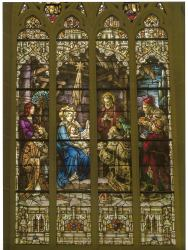 Stories in Glass : The Windows of the Cathedral Basilica of the Assumption