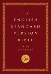 English Standard Version Bible with Apocrypha