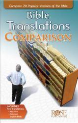 Bible Translations Comparison Pamphlet